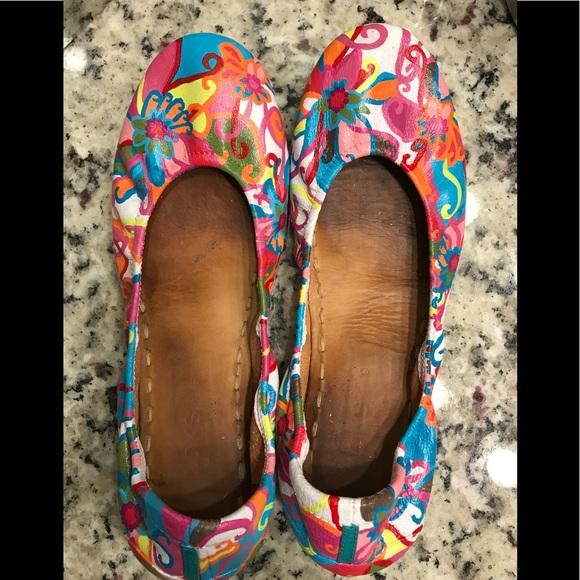 Custom Painted Size 9 Tieks   Poshmark